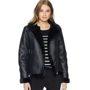 Nanette Lepore Black jacket NWT Bomber Biker Coat